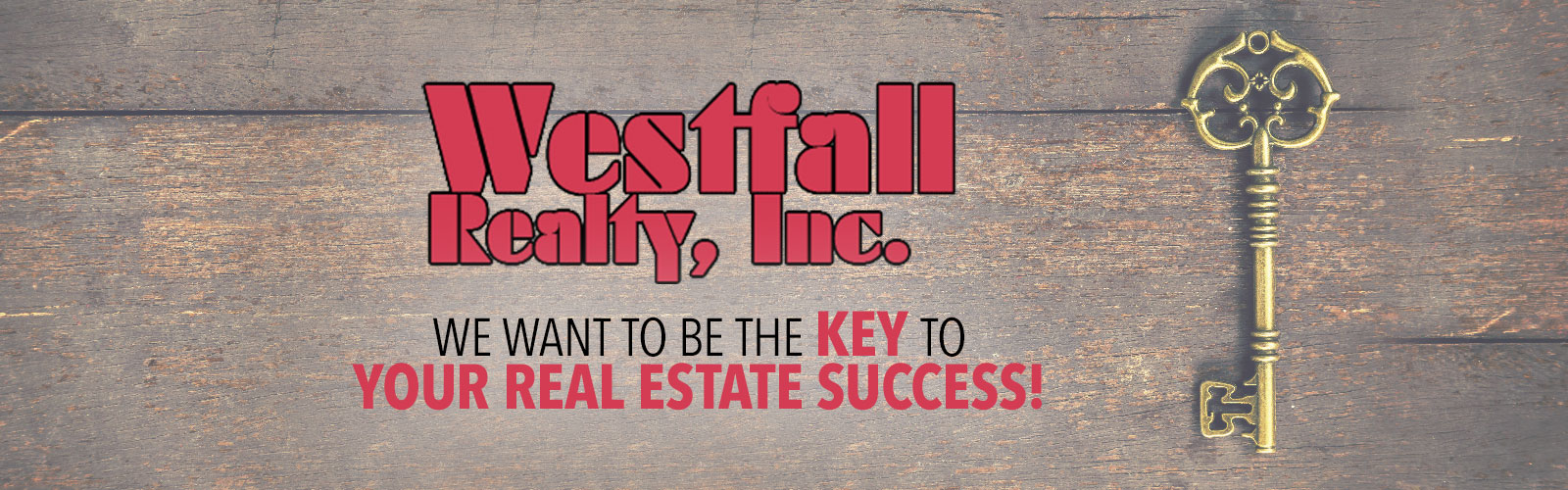 westfall realty logo We want to be the key to your real estate success!